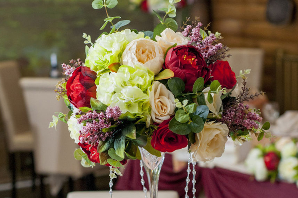 Микс из искусственных цветов: стильно, красиво, оригинально