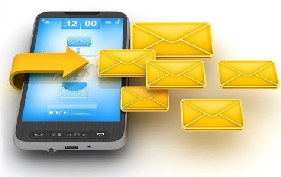 Настроен сервис отправки SMS>
