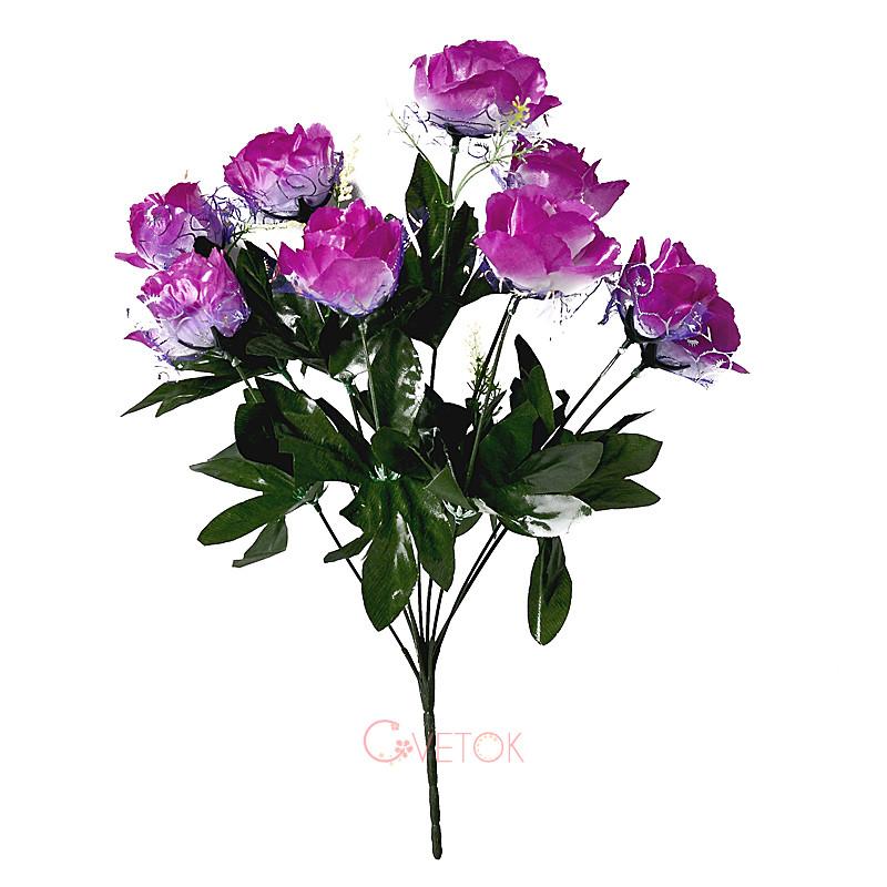 Букет розы с фатином C-23
