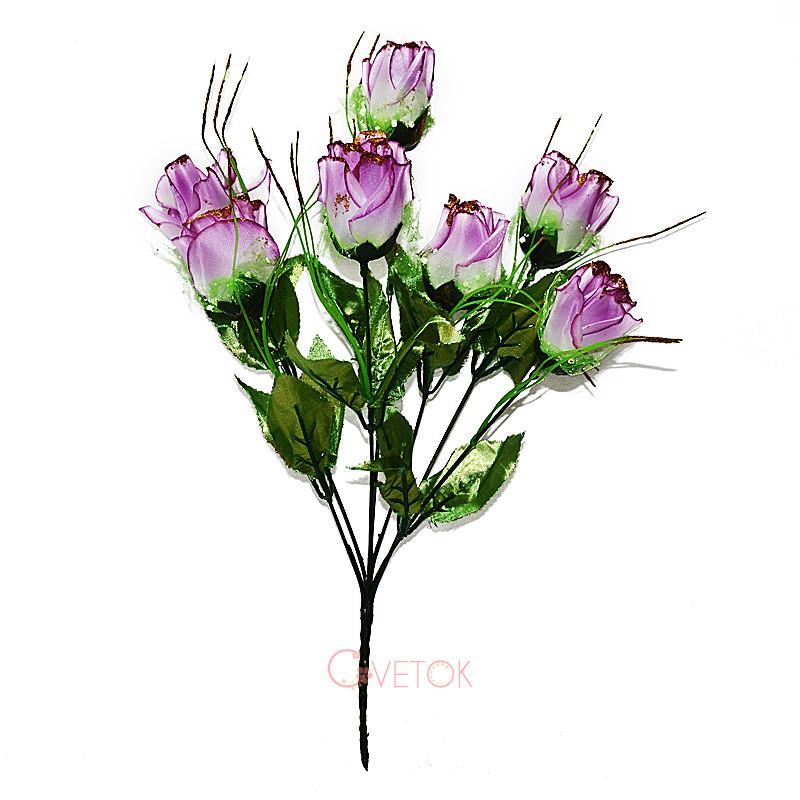 Букет розы искусственный M-17(7)