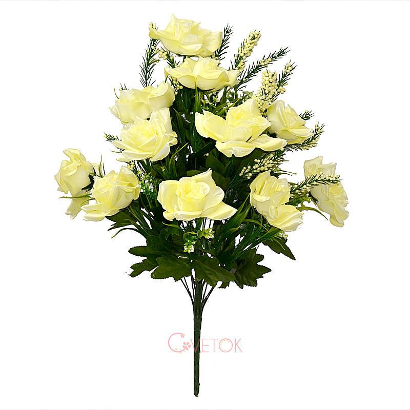 Букет розы искусственный M-5