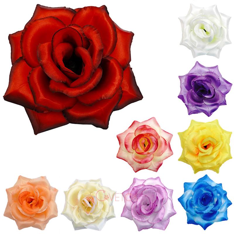 Голова розы большой искусственная R-11