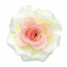 Голова розы атласной искусственная R-20