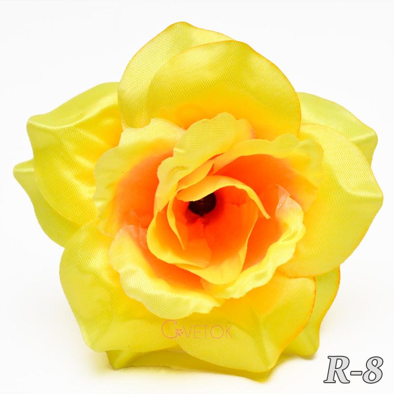 Голова розы атласной R-8