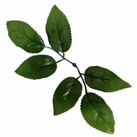 Лист розы искусственный весовой L-2