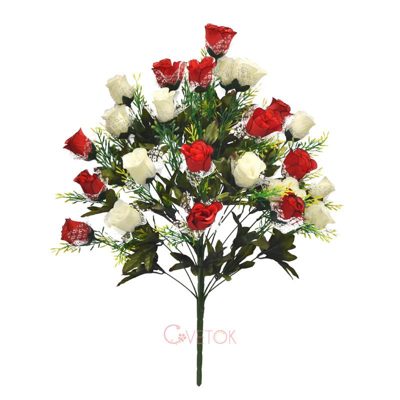 М-15/24 Букет розы бутон