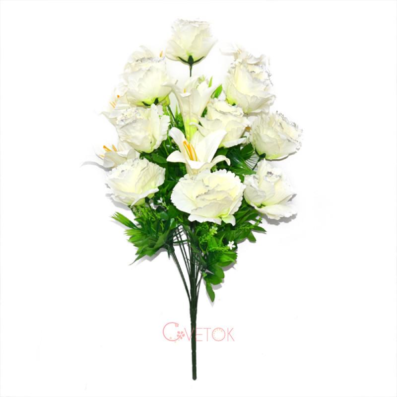C173/16 Букет розы с лилией