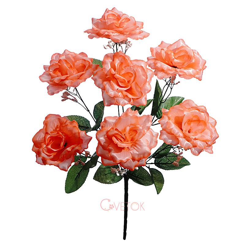 Букет розы искусственный №012