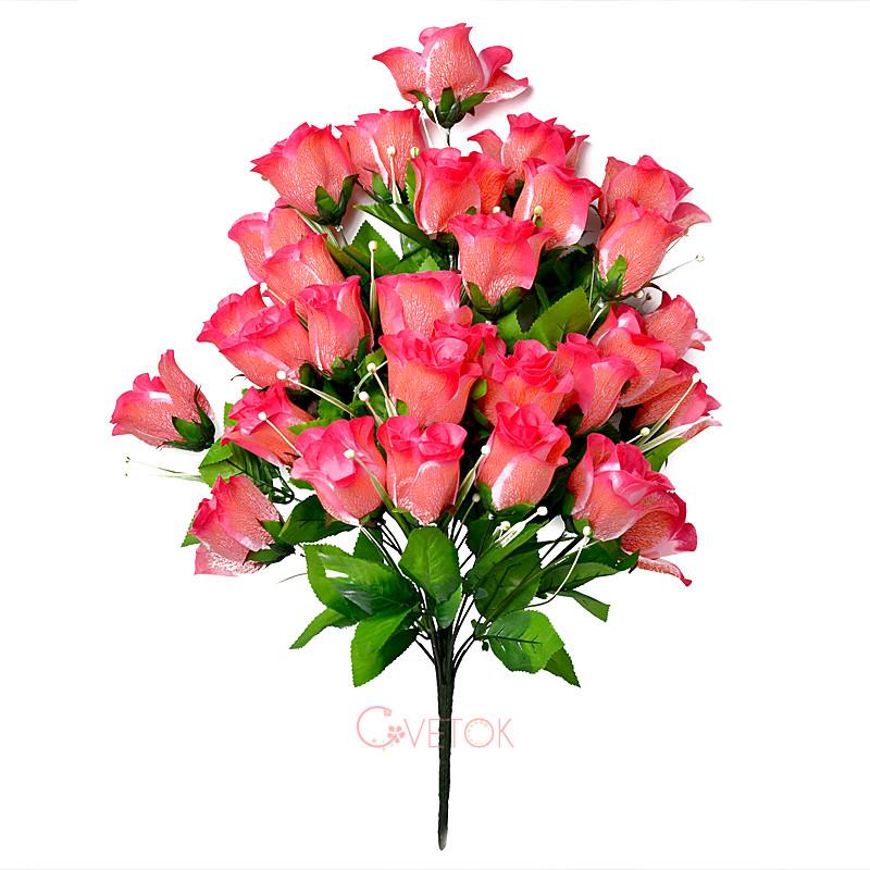 Букет розы искусственный большой A-064