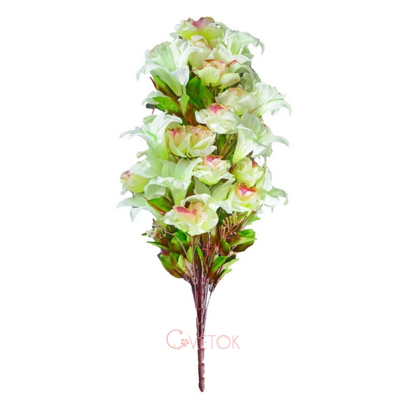 В - 14/48 лилия и роза