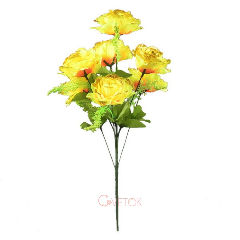 Букет розы раскрытой C-19