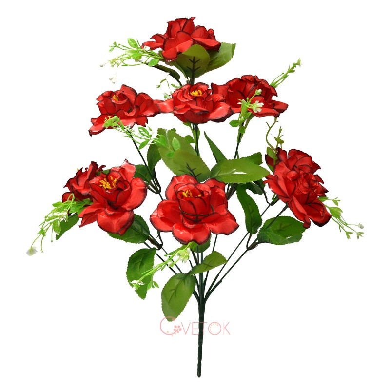 С - 44/9 Галльская  роза искусственный букет