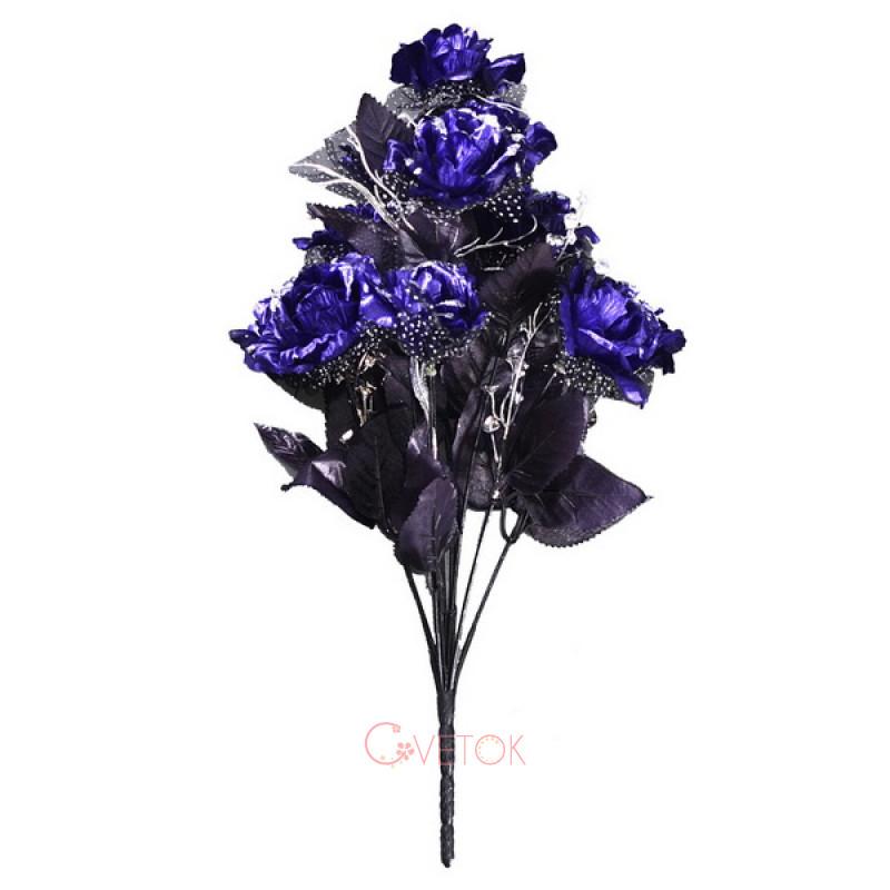 М - 39/12 роза раскрытая темная