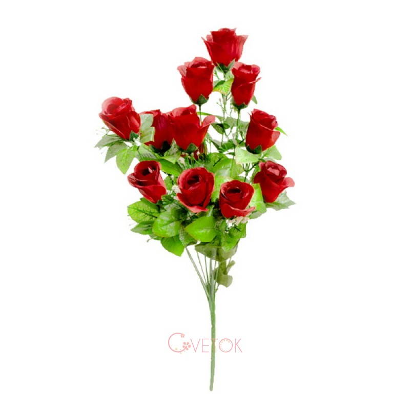 Букет розы бутон Y-122