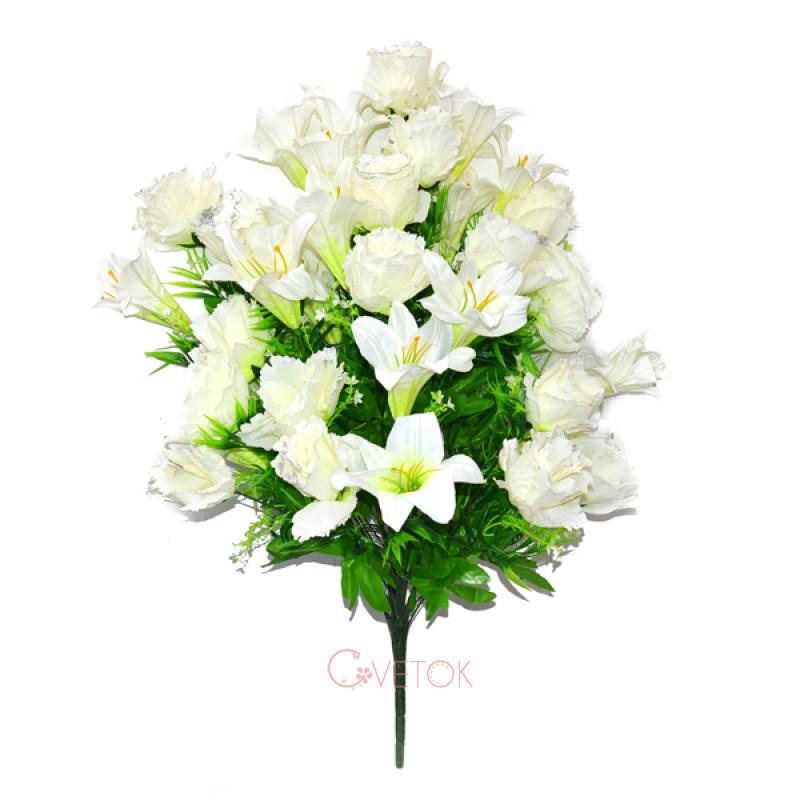 Букет розы с лилией C16-73