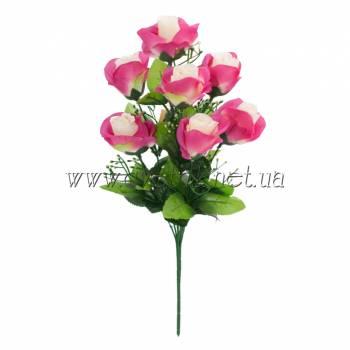 Y 125 /7 Букет искусственный розы в бутоне